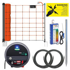 Voss Farming Electric Fence Kit For Sheep With Mains Energiser