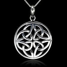 dara celtic knot necklace 925 sterling