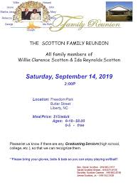 Willie Clarence and Ida Reynolds Scotton Family Reunion - Posts | Facebook