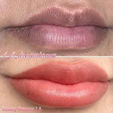 permanent makeup lip blush los angeles