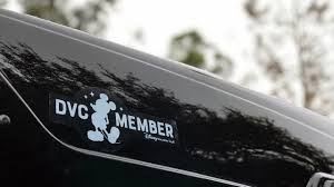 Walt Disney World 6 Car Bumper Sticker Decal