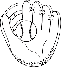 Baseball Color Pages For Children Activity Shelter Paginas