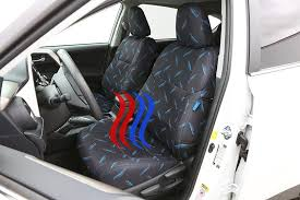 work best with heated and cooled seats