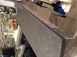 charcoal concrete countertop so