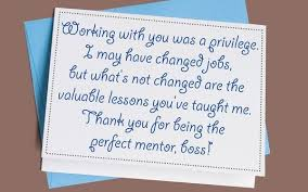 thank you notes and appreciation messages for a boss greetingsmag