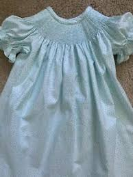 ready to smock teal dot bi dress