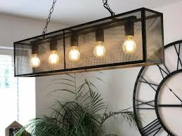 mesh 5 light pendant from next in