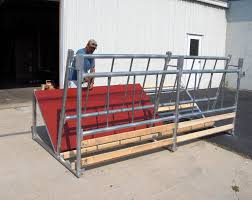 Fence Line Bk 6 Cattle Hay Feeder Klene Pipe Structures