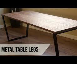 making metal coffee table legs 11