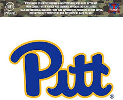 Amazon Com Victory Tailgate Pittsburgh Panthers Operation Hat Trick Oht Die Cut Vinyl Decal Sports Outdoors