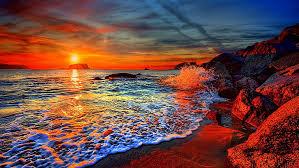 sea sky s horizon coast greece