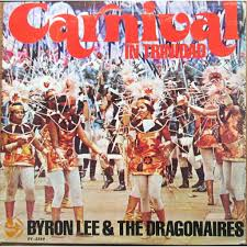 Carnival in Trinidad – Byron Lee & The Dragonaires - Fonts In Use