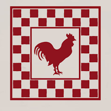 Enchantingly Elegant Rooster Chicken Primitive Country Kitchen Wall Decal Wayfair