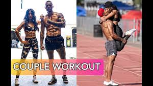 Awesome Couple Workout - Michael Vazquez and Sophia Rose - YouTube