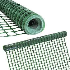 Houseables Safety Fence Snow Fencing Deer Netting Single Green 4 X 100 Feet Above Ground Mesh Temporary Plastic Barrier For Kids Swimming Pool Silt Garden Lawn Rabbits Poultry Dogs