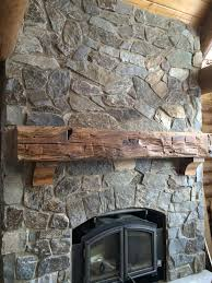 wood log fireplace mantels enterprise