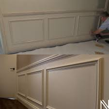 install wainscoting wall panelling
