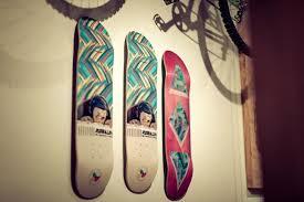 how to hang a skateboard deck a handy