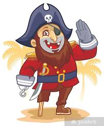 Pirate Salute Wall Mural Pixers We Live To Change