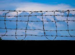 Fence Day Sky Fences Black Wall Clear Sky Security Wire Sharp Protection Pxfuel