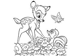 Kleurplaat Bambi Gratis Kleurplaten Om Te Printen