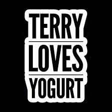 Terry Loves Yogurt Brooklyn 99 Decal White Choose Size Etsy