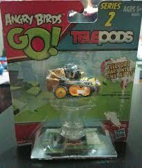 Angry Birds Go Telepods Kart Series 2 Rovio Hasbro Yellow Chuck ...