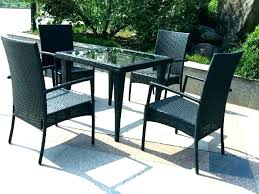 black wicker patio furniture urlst co
