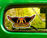 Aerosmith Decal Sticker Car Truck Window Bumper Laptop Wall
