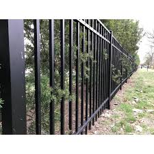 Fence Armor 2 In L X 2 In W X 3 In H Black Ornamental Fence Post Guard Fa2x2obmb The Home Depot