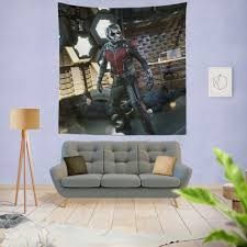 Ant Man And The Wasp Marvel Movie Wall Hanging Tapestry Super Heroes Bedding