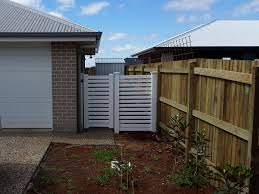 Side Privacy Pvc Fence With Gate Big Country Pvc Fencing