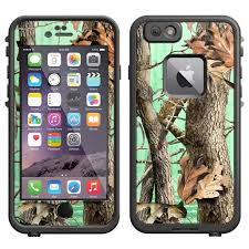 Skin Decal For Lifeproof Apple Iphone 6 Case Camo Tree On Green Decal Not A Case Walmart Com Walmart Com