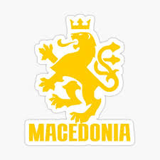 Macedonia Stickers Redbubble