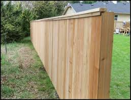 Capped Fence Royal Fence Wood Fence Styles
