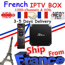 Best French IPTV Box X96 mini Android TV Box with 1200+ 1 Year IPTV Europe  France Arabic Africa Morocco football Smart IP TV Box - Gadget Company