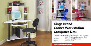 Kings Brand Corner Workstation Computer Desk Review Space Saving Desk