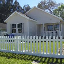 Weatherables Plymouth 4 Ft H X 8 Ft W White Vinyl Picket Fence Panel Kit Pwpi 3r5 5 4x8 The Home D In 2020 Vinyl Picket Fence Wood Picket Fence Picket Fence Panels