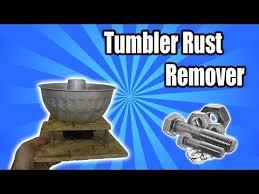 vibrating parts tumbler rust remover