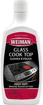 weiman glass cooktop heavy duty cleaner