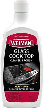 weiman glass cooktop heavy duty cleaner