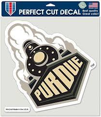 Amazon Com Purdue University Perfect Cut Color Decal 8 X 8 Everything Else