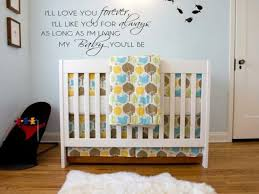 I Ll Love You Forever Wall Decal Words Lettering Quote Baby Nursery Words 48 For Sale Online