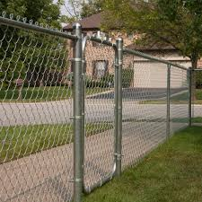 Yardgard 42 In W X 72 In H Galvanized Steel Bent Frame Walk Through Chain Link Fence Gate 328304a The Home Depot
