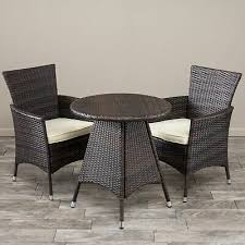 bistro set 3 pc table chairs outdoor