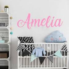 Personalized Name Wall Sticker Boys Girls Name Decal Kids Room Decoration Vinyl Ebay