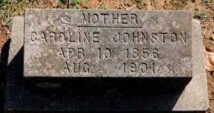 JOHNSTON, CAROLINE - Craighead County, Arkansas   CAROLINE JOHNSTON -  Arkansas Gravestone Photos