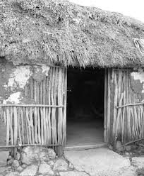 Modern wattle and daub house in Yucatan ...