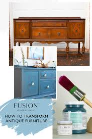 how to transform antique furniture with