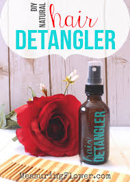 hair detangler diy all natural